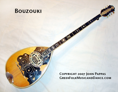 Bouzouki by Zozef for Papaioannou